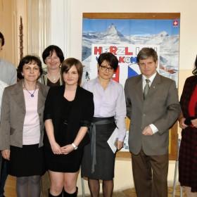 Návštěva velvyslance Švýcarské konfederace